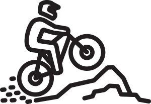 Established 42kms of Mountain bike tracks & home to the Townsville Rockwheelers Mountain Bike Club – Australia's second largest club